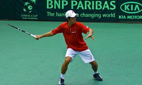 【テニス愛の無駄遣い】ティームを破る大金星!錦織がいなくても日本には杉田がいた